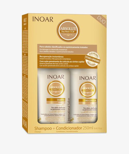 Inoar Absolute Daymoist Duo Kit Shampoo + Conditioner 250ml