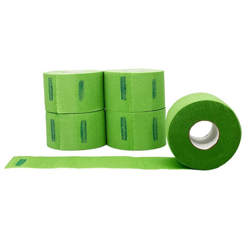 Level 3 Disposable Neck Strip Paper - GREEN