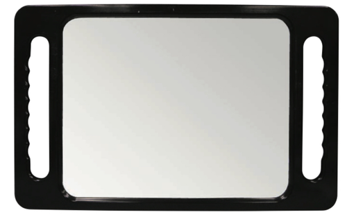Rectangle mirror for salons and barbers