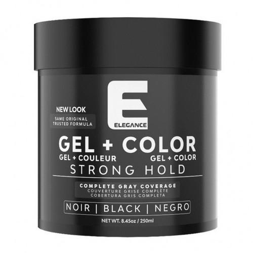 Hair Styling Gel Plus Black Color 250 ml