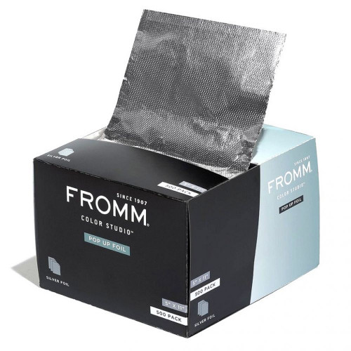 Fromm silver popup foil 5 x 11 inch
