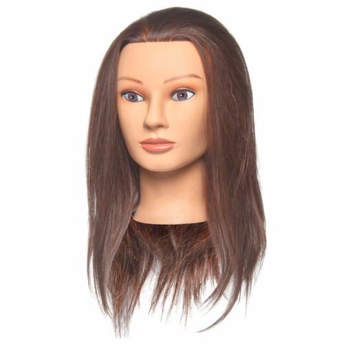 Penelope Mannequin 100% Human Hair D308