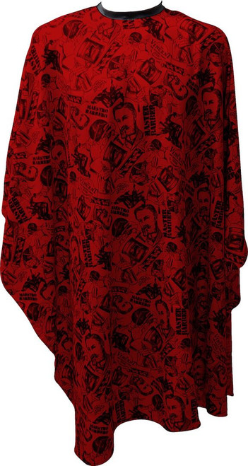 Vincent Nostalgic Cutting Cape - Red