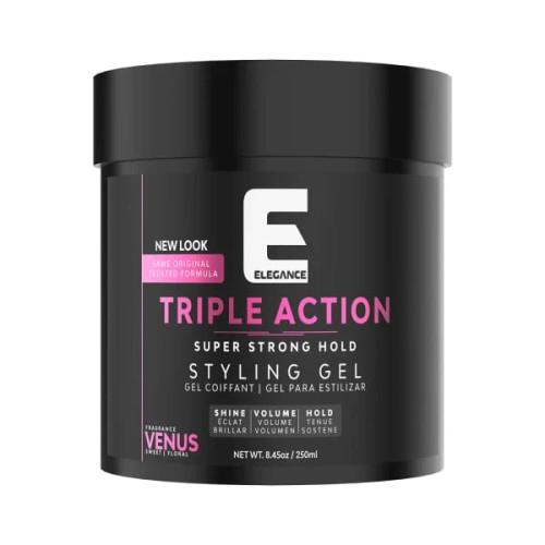 Elegance triple action hair gel venus