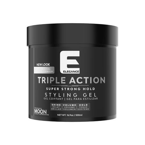 Elegance Triple Action Hair Gel - Moon