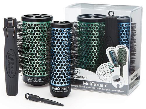 Olivia Garden Multibrush Detachable 3 Piece Set