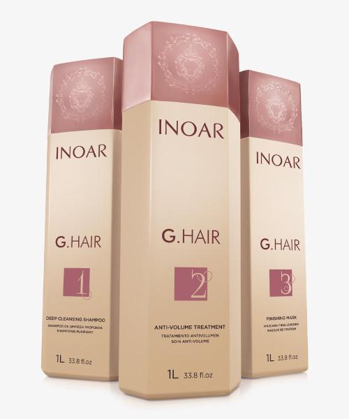 Inoar G Hair 1000ml kit keratin