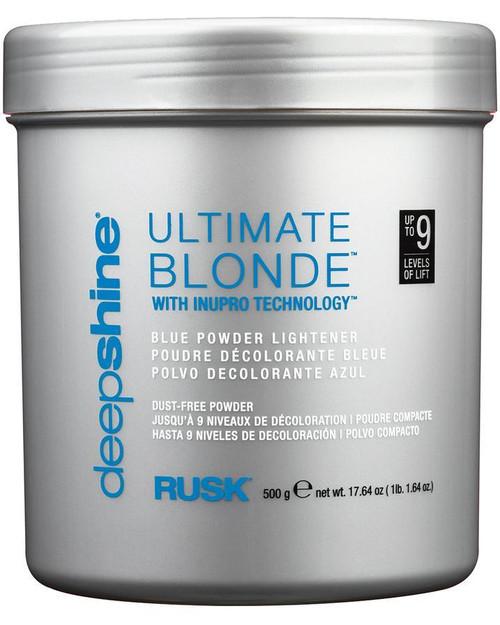 Rusk Blonde Blue Powder Beach Lightener, 17.64 oz.