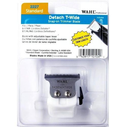 Wahl Detach T-Wide Blade for 5 Star Cordless Detailer #2227