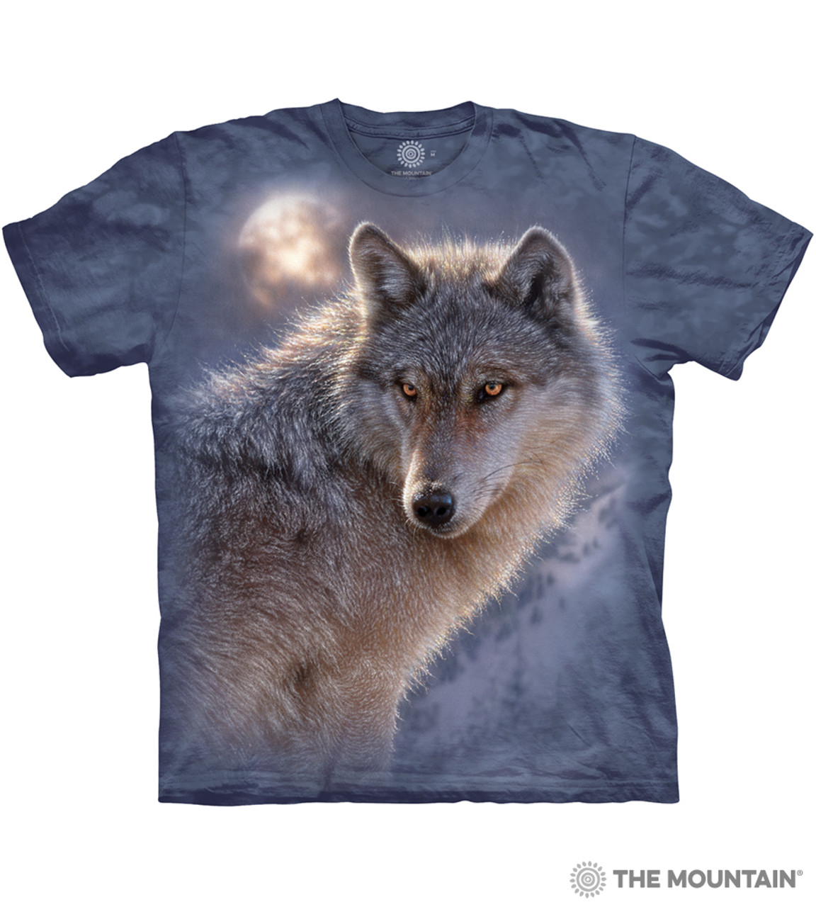 The Mountain Unisex Adult Guardian of the North Wolf T Shirt
