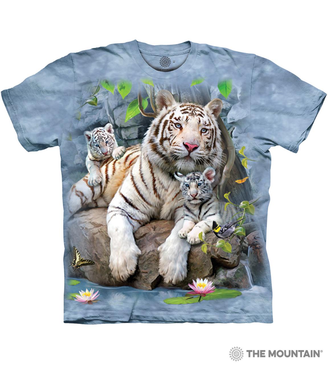 Walk on the wild side t shirt tiger animal s-3xl