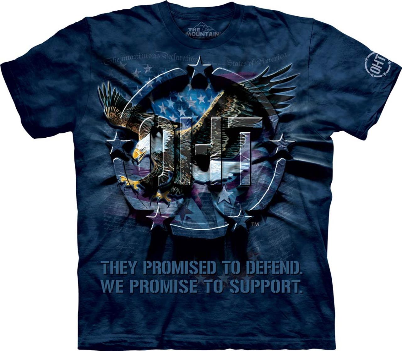 The Mountain Unisex OHT Eagle Inner Spirit Military T Shirt