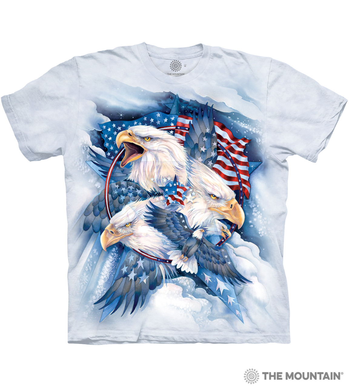 The Mountain Unisex Adult Peace At Last Eagle T Shirt
