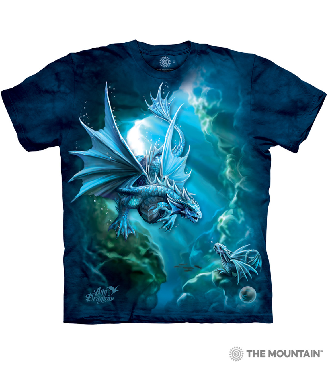 """/""""Fire Dragon/"""" The Mountain Classic T-Shirt Child and Adult"""