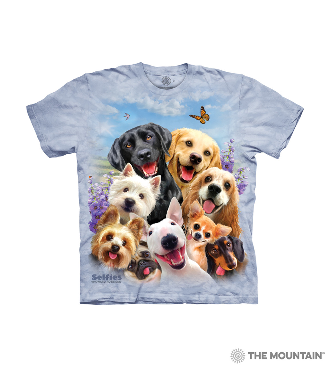 Details about  /The Mountain 100/% Cotton Kid/'s T-Shirt Youth Tee Dogs Speak S Made in USA  NWT