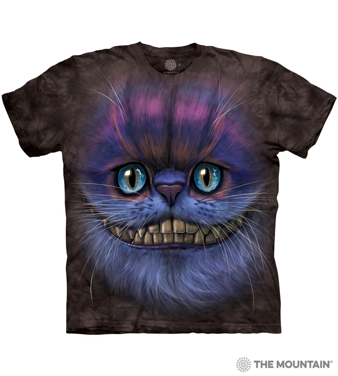 Big Face Cheshire Cat T Shirt Child Unisex Mountain