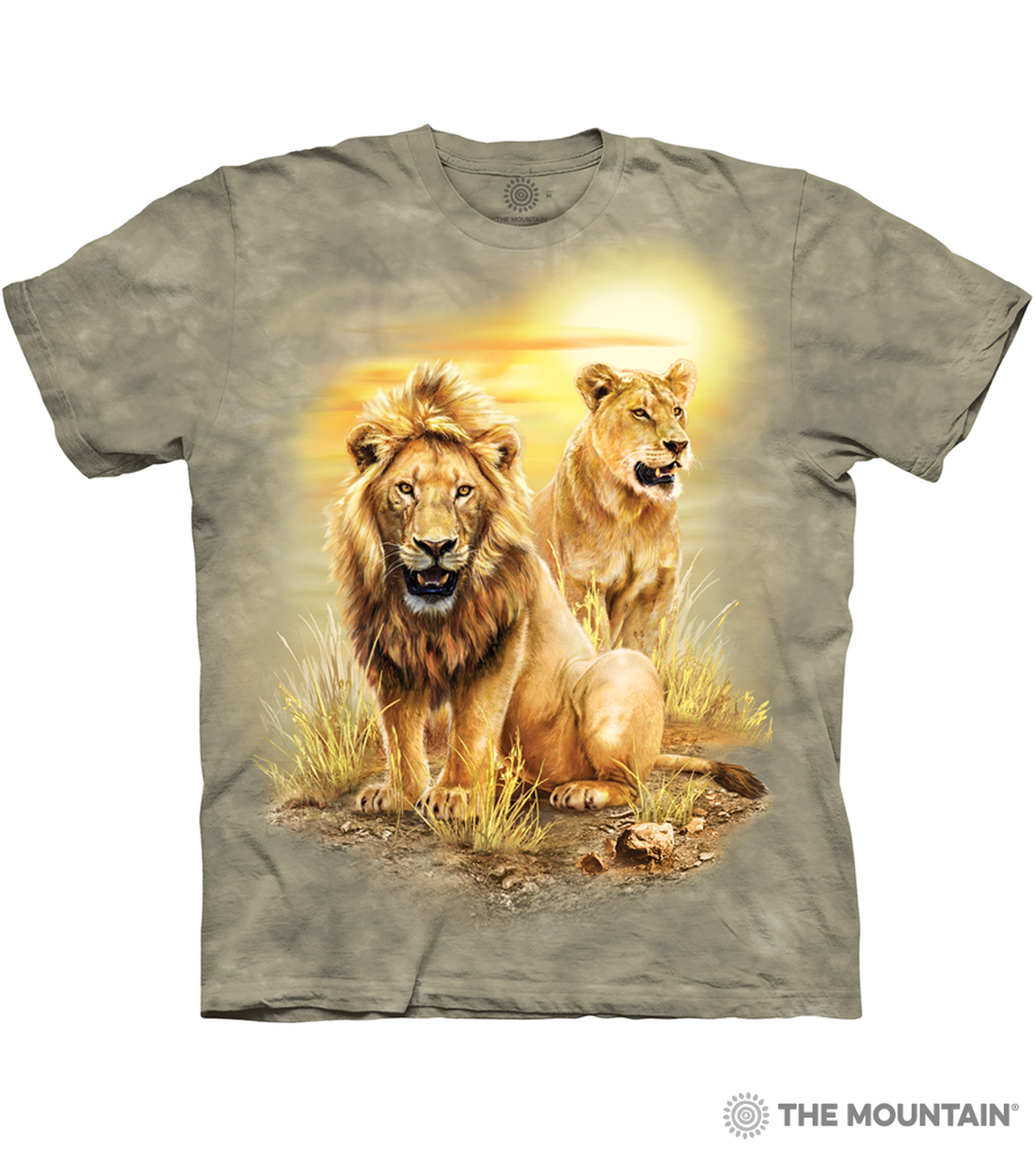 Lion Warrior Big Cats T Shirt Adult Unisex The Mountain