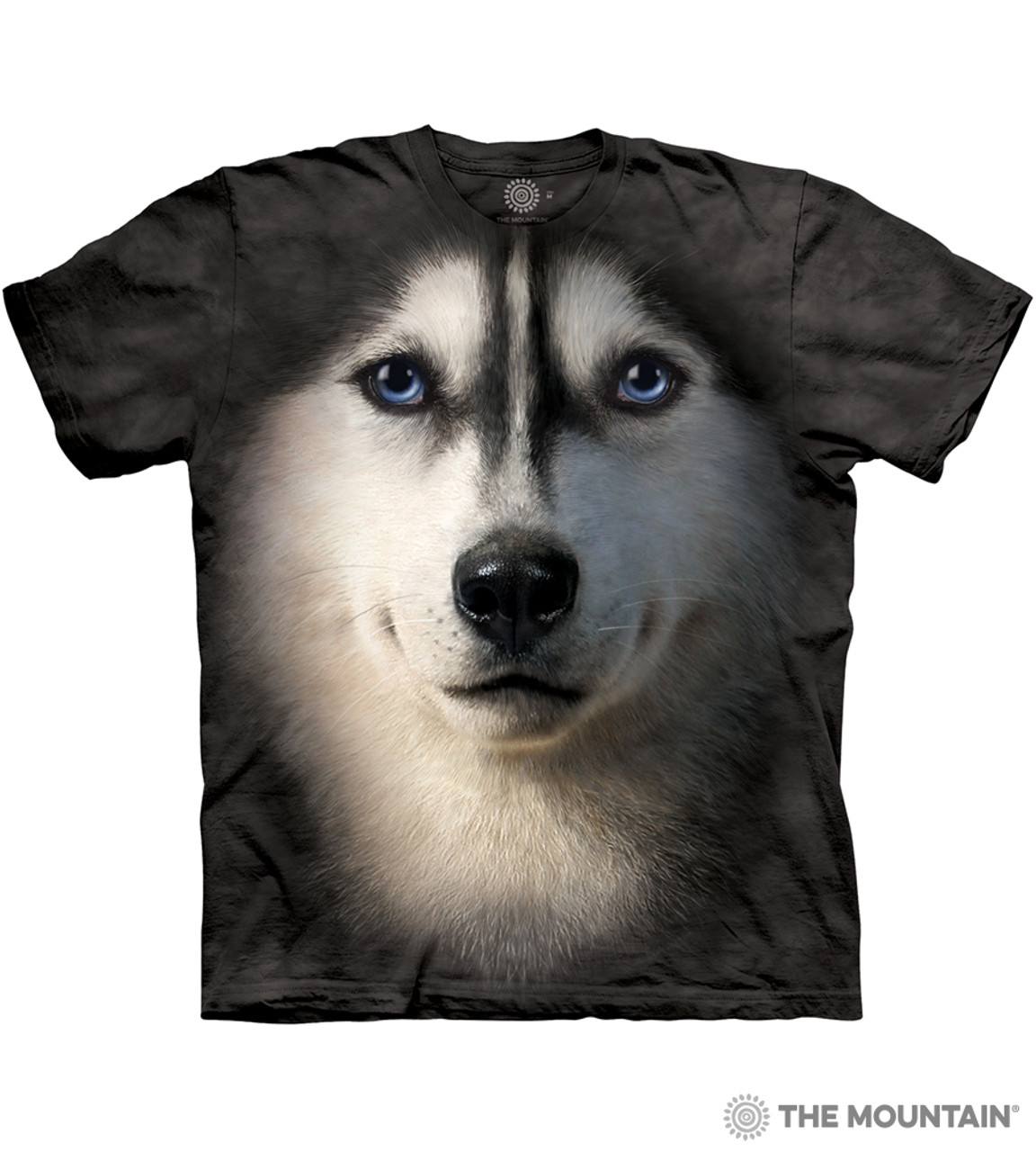 Cool Long Sleeve Shirt In Prink Protected by Alaskan Malamute Tee Shirt