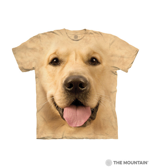 8dd63348995 Big Face Golden Kids T-Shirt