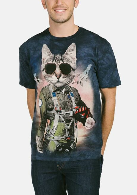 efe0d04d The Mountain Adult Unisex T-Shirt - Tom Cat