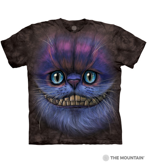 99d2603c The Mountain Made-to-Order T-Shirt - Big Face Cheshire Cat - MM