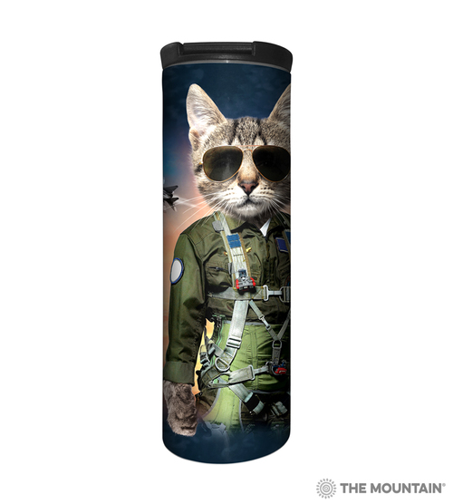 Tom Cat Barista Travel Mug