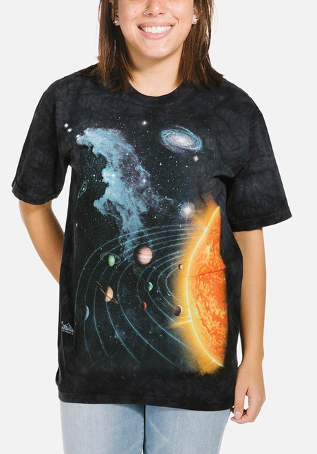 You Are Here Galaxy Design WOMENS T-SHIRT tee birthday space solar system funny
