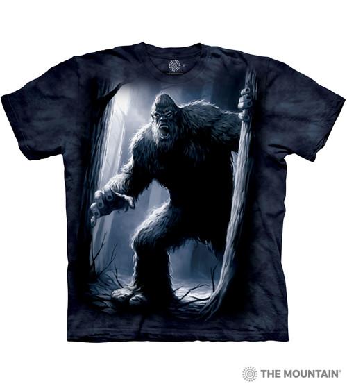 fc7a17634 The Mountain Adult Unisex T-Shirt - Sasquatch