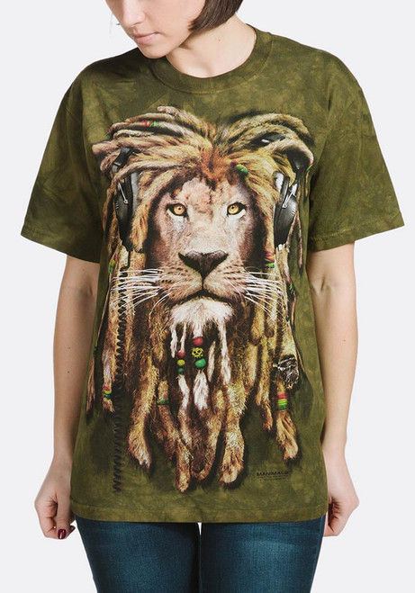 DJ Jahman Kids T-Shirt from The Mountain Lion Manimal Childrens Sizes NEW