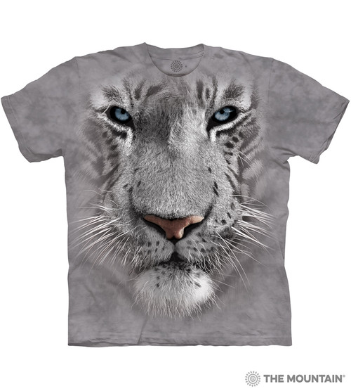 Big Face Tribal White Tiger T Shirt Child Unisex Mountain Latest Technology Other