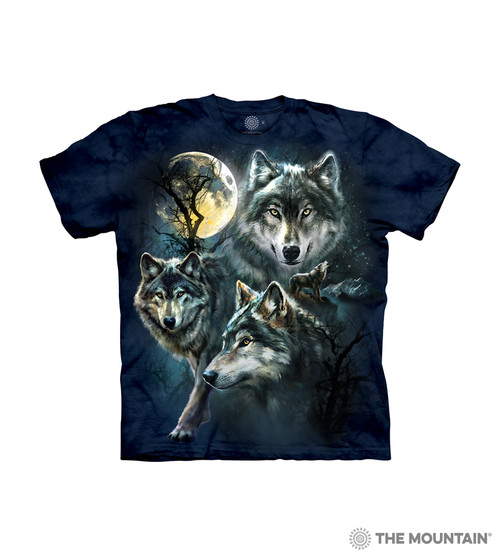 Find 12 Wolves Kids T-Shirt from The Mountain Boy Girl Child Sizes NEW