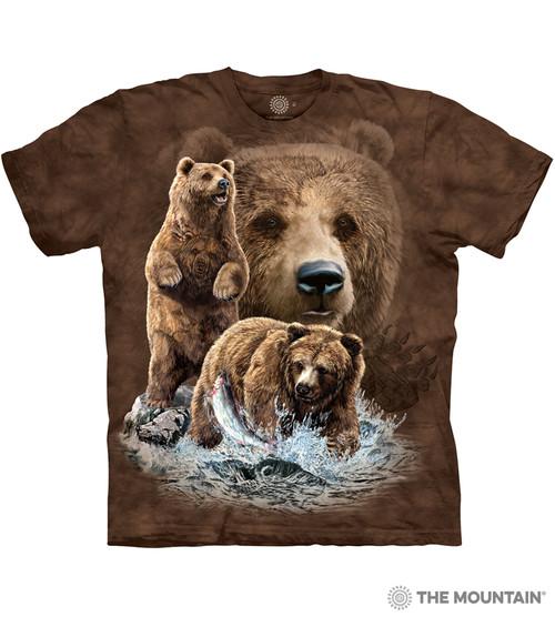 Bear T-Shirts Online, Animal Print T Shirts Online - The