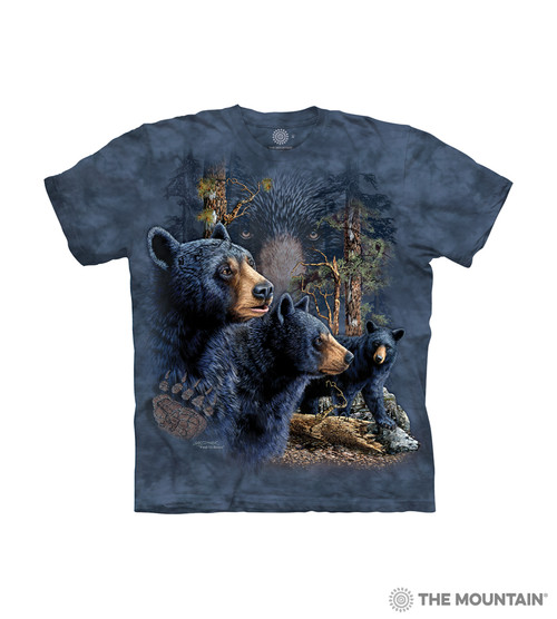 Find 13 Black Bears Kids T-Shirt