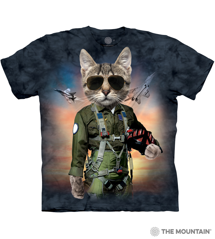 0a8a8045 The Mountain Adult Unisex T-Shirt - Tom Cat