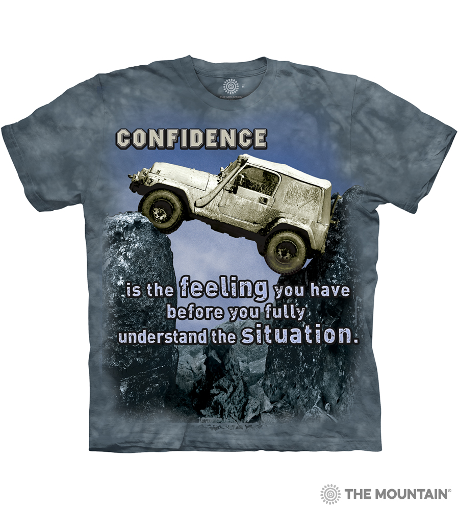 53ff29521 The Mountain Adult Unisex T-Shirt - Jeep Outdoor