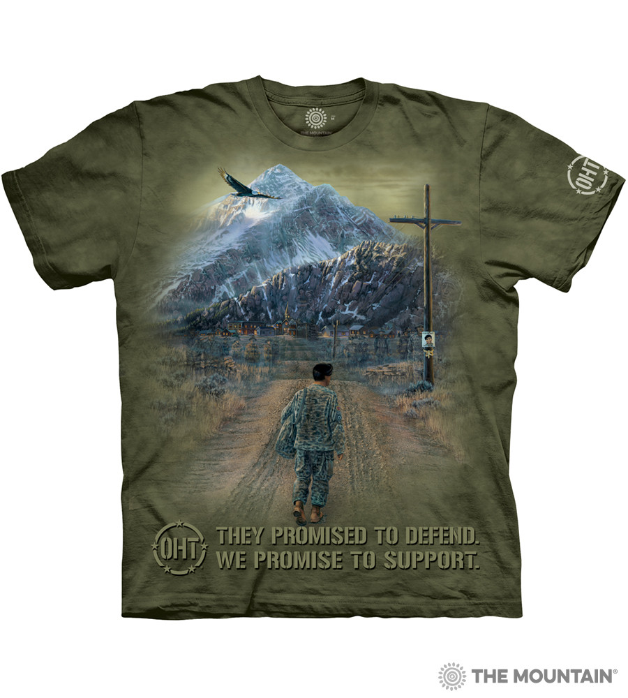 ff2a514a98c The Mountain Adult Unisex T-Shirt - Hero Returns