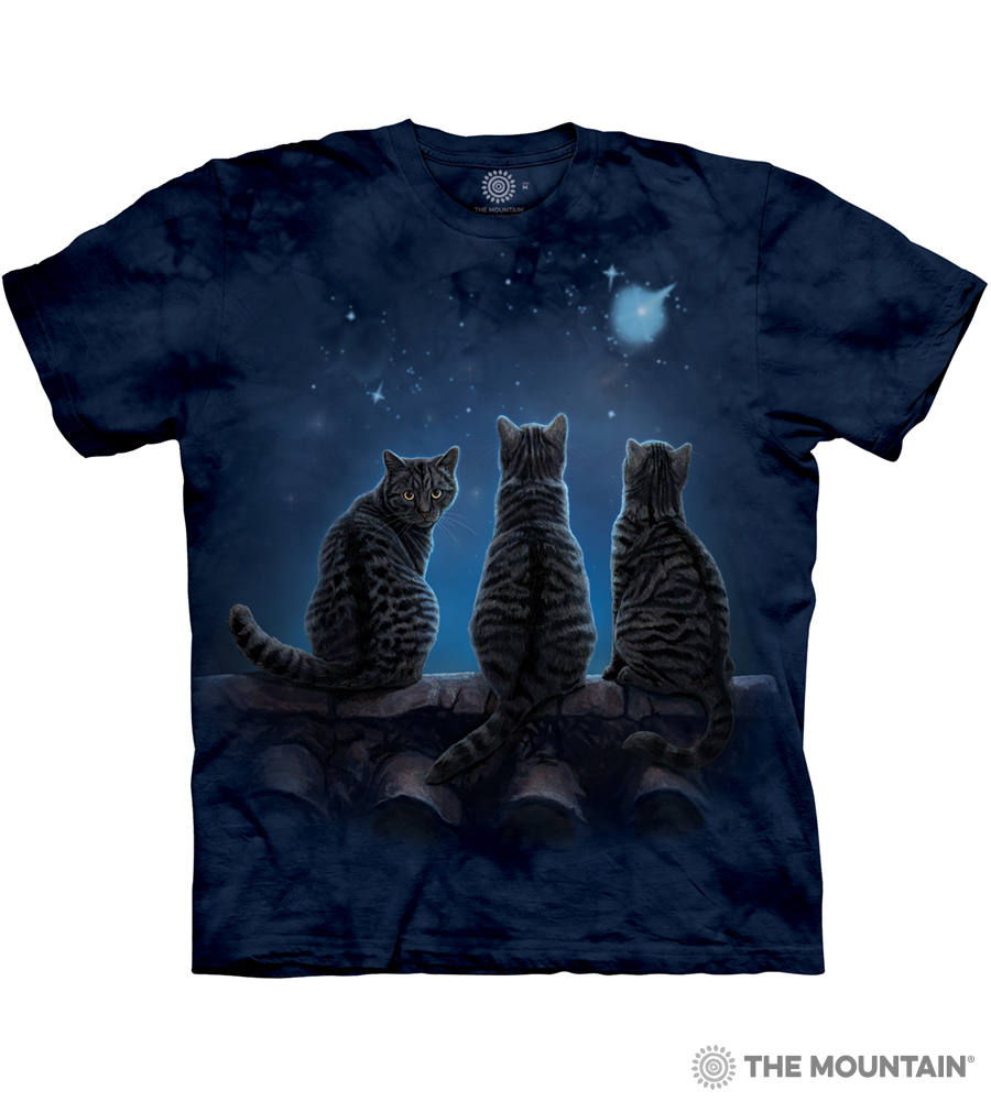 8ea640cf836e The Mountain Adult Unisex T-Shirt - Wish Upon a Star