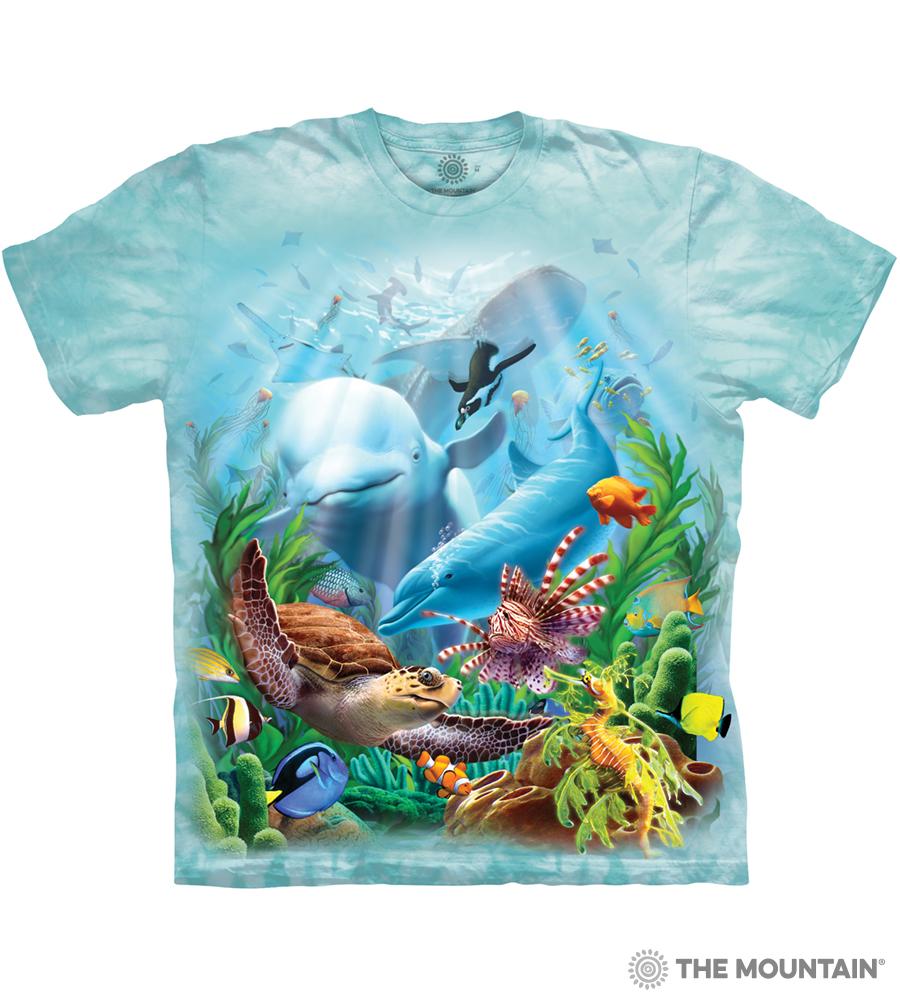 f7e06026d7b The Mountain Adult Unisex T-Shirt - Seavillians