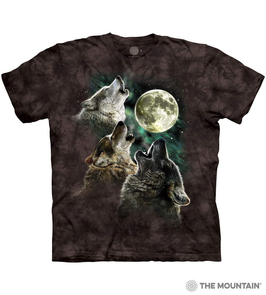 d683c29f6 The Mountain Made-to-Order T-Shirt - Three Wolf Moon - MM