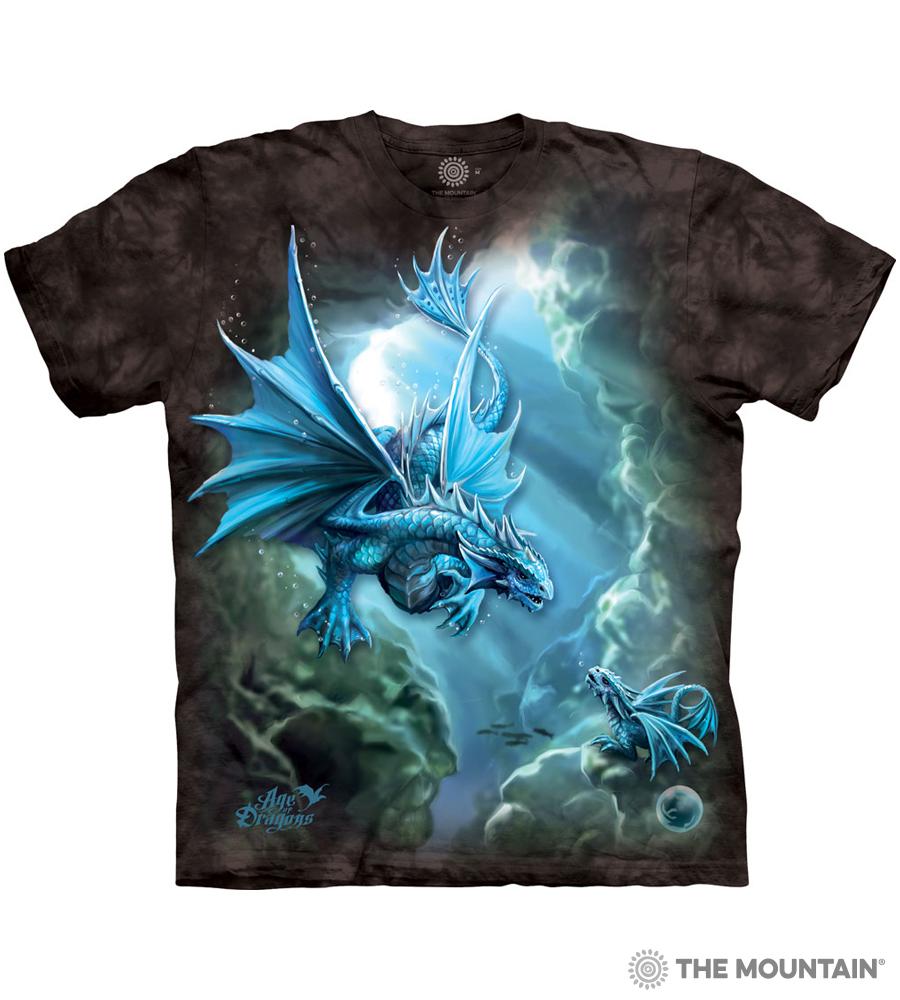 5698 The Mountain T-Shirt Shirt STARGAZE Sternenglanz by Anne Stokes bis 5xl