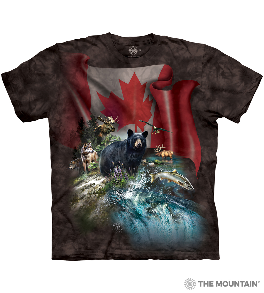 The Mountain Made To Order T Shirt Canada The Beautiful Mm