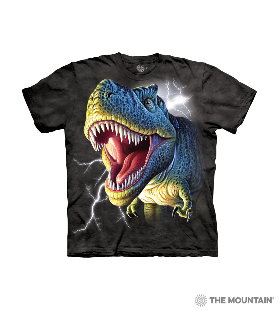 The Mountain Kid s T-Shirt - Lightning Rex ac59e6b70