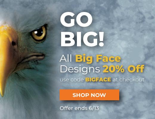 Shop Big Face T-Shirts