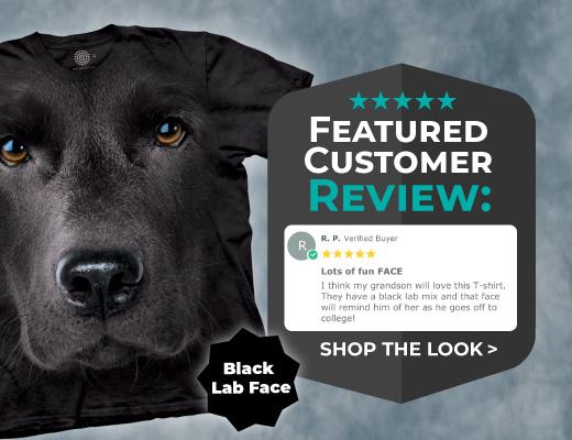 Shop Big Animal Face T-Shirts