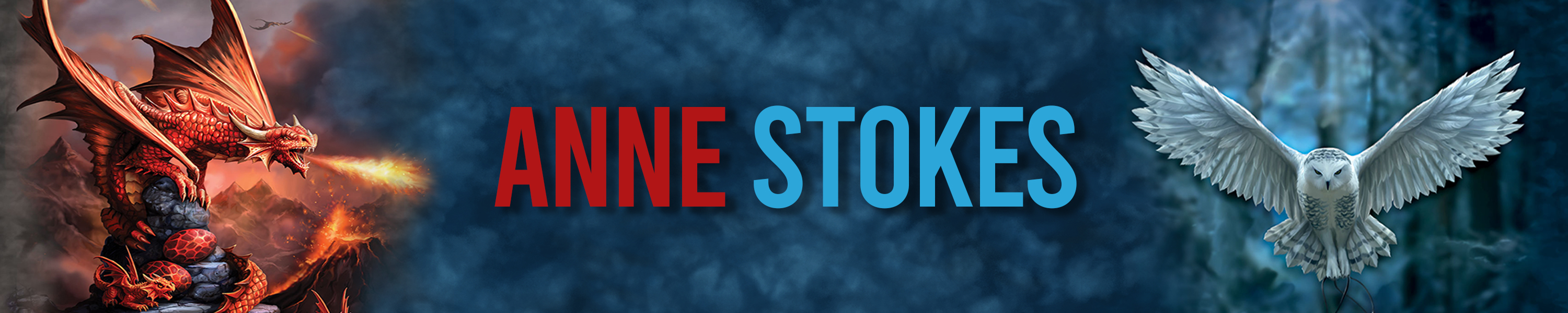 Anne Stokes Category Banner