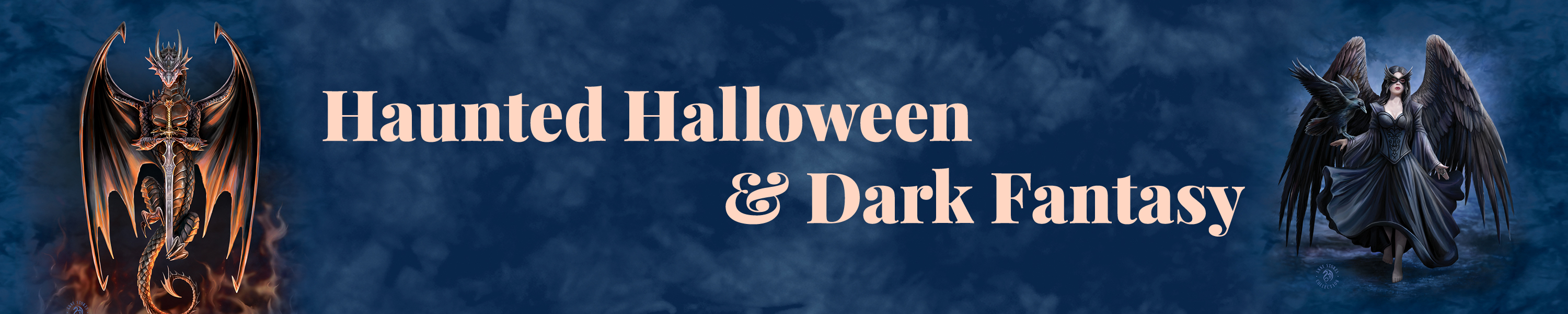Halloween and Dark Fantasy Category Banner