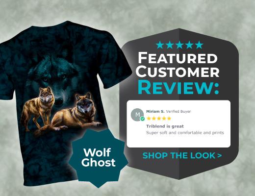 Shop Ghost Wolf T-Shirt