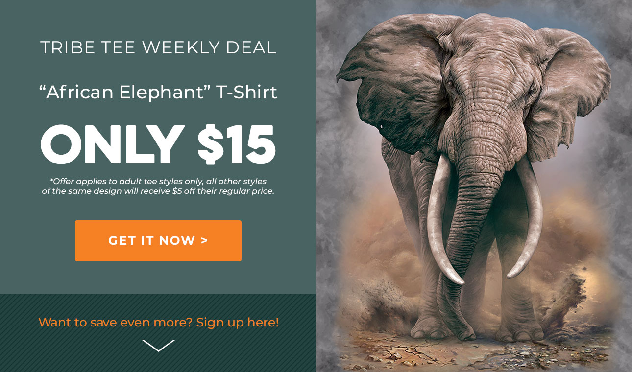 Shop The Mountain Tribe Tees Weekly Deal