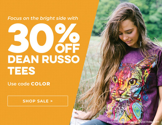 Dean Russo T-Shirt Collection by The Mountain