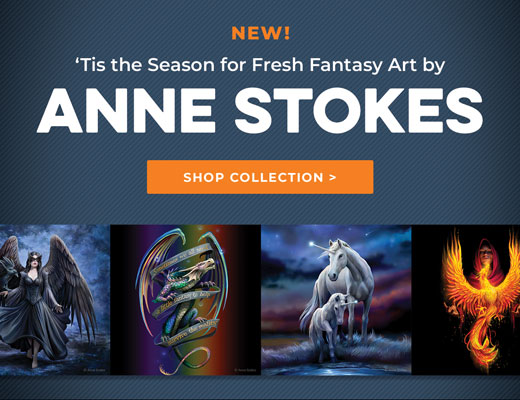 New Fantasy art by Anne Stokes
